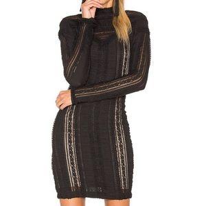 ✨NWOT✨ Cinq a Sept Long-sleeve Mini Dress